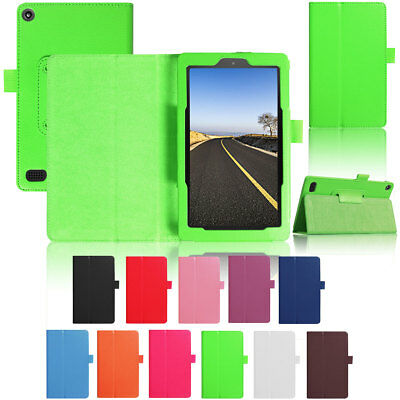 Luxury Magnetic PU Leather Flip Case For Amazon Kindle Fire HD 10 2017 7th Gen