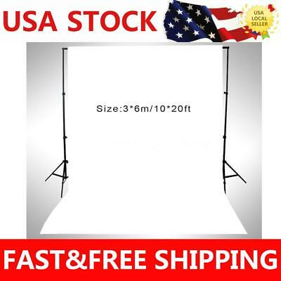 White Color 10X20ft Photo Backdrop Merry Christmas Photography Studio Prop Gifts