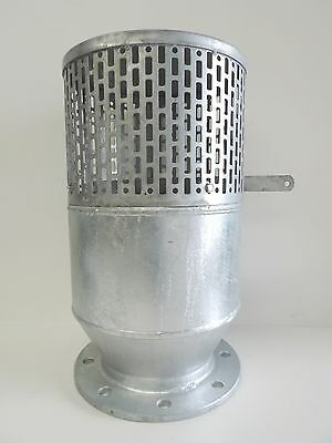 "NEW Foot Valve 150mm 6"" E Flange Galvanised AIP Flanged Footvalve Galvanized Gal"