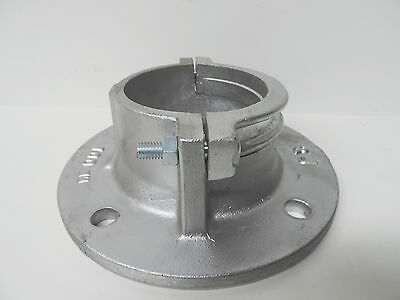 "NEW Aluminium Flange 100mm 4"" Clamp On Complete COF4 Pipe Irrigation Fitting"