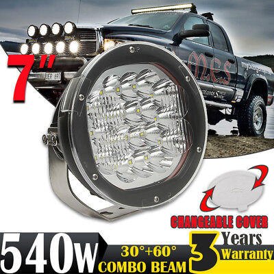 7INCH 540W CREE LED Driving Light Work Lamp Spotlight Offroad 4x4WD ATV Truck 5""