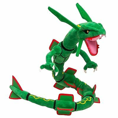 Pokemon Center Rayquaza Plush Doll Stuffed Soft Figure Toy Collectable Gift 32""