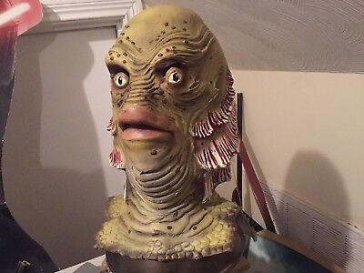 Creature From The Black Lagoon Mask Forum Novelties + Wolfman paper magic