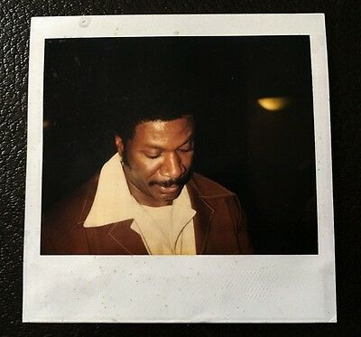 Ving Rhames Continuity Polaroid Wardrobe Original Photo Don King 1997 Movie Prop
