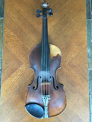 Antique Tyrolean Violin, c. 1880, labeled copy of Jacobus Stainer