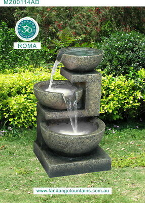 Roma Water Feature Amazing Water Drop Outdoor Fountain New Nov 2017 Fast Deliver