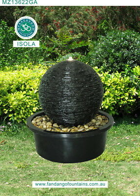 Isola Water Feature Amazing Water Drop Outdoor Fountain Nov 2017 Fast Deliver