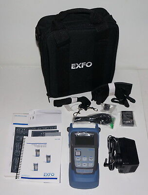 Exfo Fpm-602 Fpm-600 Optical Power Meter Optical Loss Test Set New!