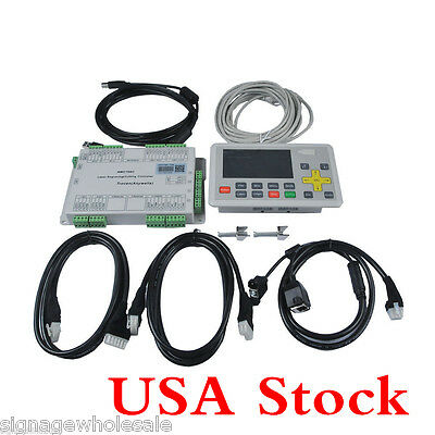 USA Stock-Anywells AWC708C LITE Laser Controller System for CO2 Engraving System