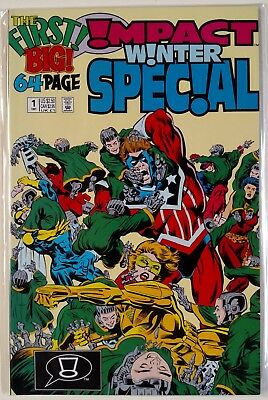 Impact Winter Special #1 (DC-Impact 1991) 68 Pages