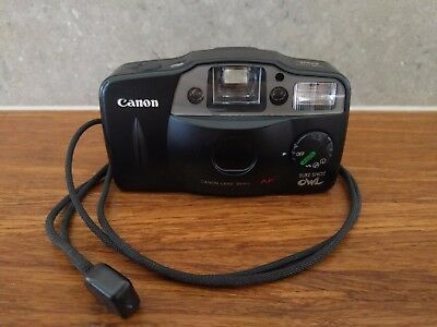 Canon Sure Shot Owl - 35mm Point and Shoot Film Camera
