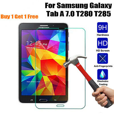 9H+Thin Tempered Glass  Screen Protector For Samsung GALAXY Tab A 7.0 T280 T285