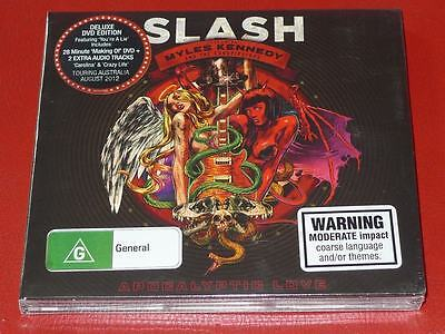 Apocalyptic Love [Deluxe Edition] by Slash CD+DVD