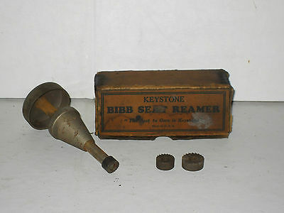 VINTAGE ANTIQUE BIBB SEAT REAMER by Keystone Brass and Rubber Co , Philadelpia