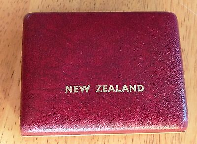 1983 New Zealand Royal Visit Proof Silver dollar in original case
