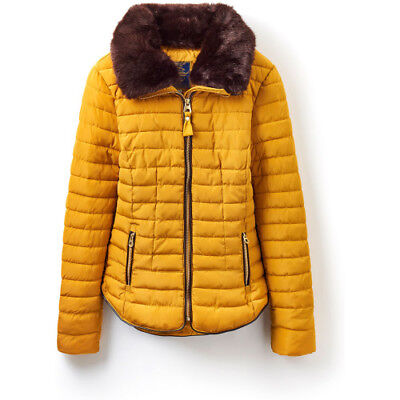 Joules Gosfield Short Padded Womens Jacket Synthetic Fill - Caramel All Sizes
