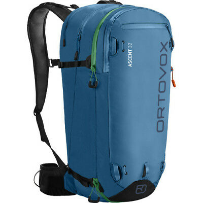 Ortovox Ascent 32 Mens Rucksack Snow Backpack - Blue Sea One Size