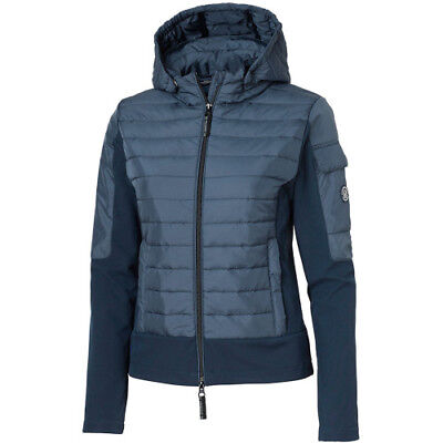 Mountain Horse Silver W's Hybrid Womens Jacket Softshell - Deep Blue All Sizes