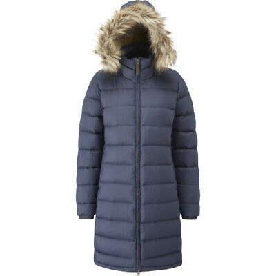 Rab Escape Deep Cover Parka Womens Jacket Down - Denim All Sizes