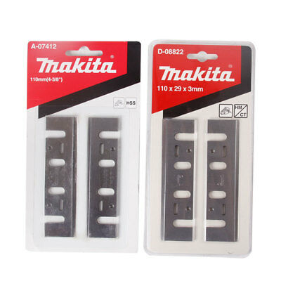 4Pcs MAKITA 110mm HSS Planer Blade 793008-8 for MAKITA 1911B 1912B 1002BA PLANER