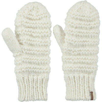 Barts Jasmin Womens Gloves Outdoor Mitts - White One Size