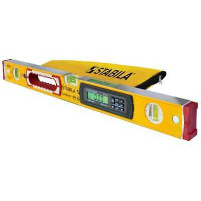 "Stabila 36548 48"" Type 196-2 Electronic Level IP65 wet rated + Case New"