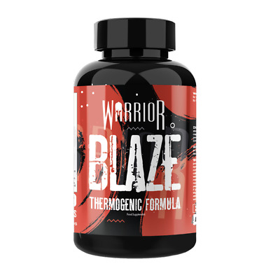 Warrior Blaze Fat Burners T5 Weight Loss Slimming Aid 90 Caps Love Island Body