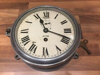 Rare Ships WWII Submarine Clock AP726 Nautical Maritime Royal Navy