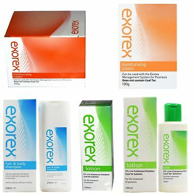 Exorex | Cream Lotion Shampoo & Body 100/250g 100/250ml | Full Range
