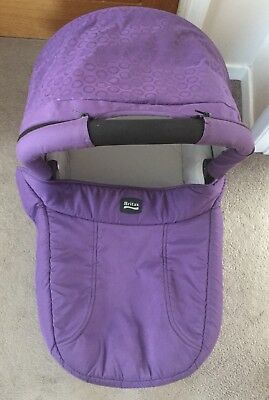 Britax Hard Carry Cot B smart And Compatible Click And Go System