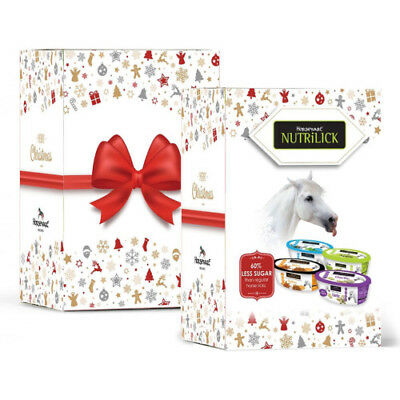 Horseware Christmas Nutrilick Unisex Stable And Yard Horse Treats - Assorted