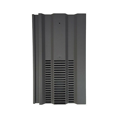 Roof Tile Vent To Fit Redland 49, Marley Ludlow Plus | Grey Smooth | 14 Colours