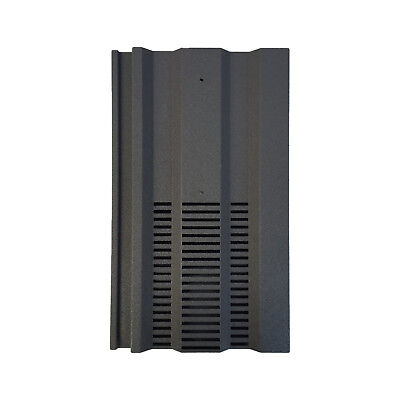 Roof Tile Vent To Fit Redland 49 Marley Ludlow Plus | Grey Granular | 14 Colours