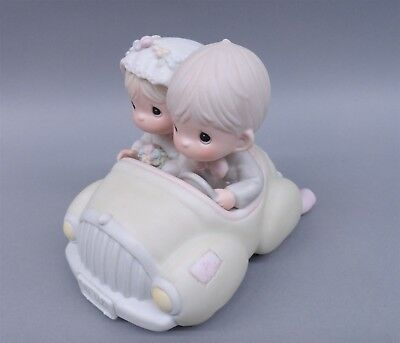Precious Moments 520780 Wishing You Roads Of Happiness 1988