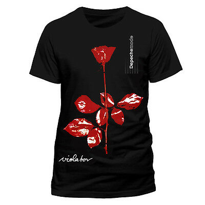 Depeche Mode Violator Album Cover Rock Official Tee T-Shirt Mens