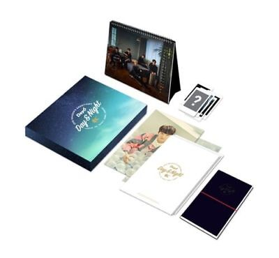 DAY6 2018 SEASON'S GREETINGS [DAY & NIGHT] Calendar+Diary+Mini Poster+PhotoCard
