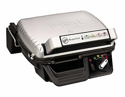 Tefal Super Grill Barbecue Searing Mode Restaurant Quality Grilling 2000W Silver