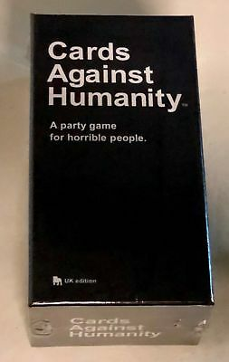 Cards Against Humanity UK Edition - Brand New Sealed Free Fast Ship