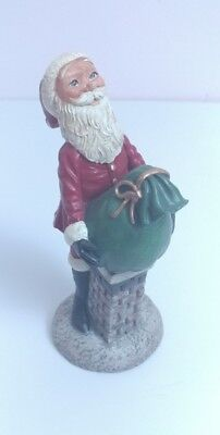 Vintage Christmas Jim Shore 1992 Chimney Santas Limited Edition # 19/7000 Figure