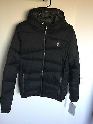 Spyder Geared Synthetik Down Winterjacke Gr. S schwarz NEU