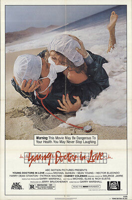 Young Doctors in Love 1982 27x41 Orig Movie Poster FFF-64561 Sean Young