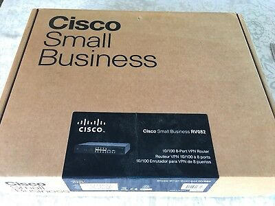 Cisco Rv082, Router, 8 Port, 10/100 Vpn, Dual Wan, Static Network Ip