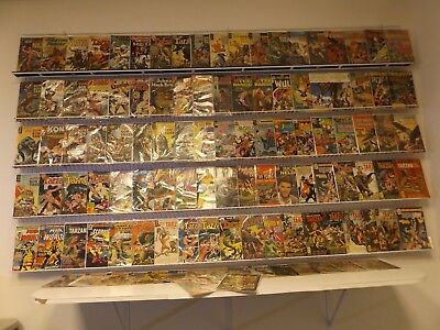 Huge Lot of 110+Comics W/Vintage War, Jungle and Western Stories+MORE! Avg GVG!!