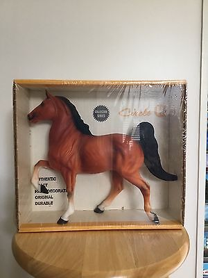 Hartland #4502 Vintage Regal Orange Bay Saddlebred Horse Nib Rare
