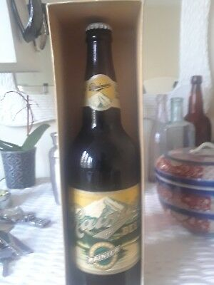 antique beer bottle rainer pale beer 100th anniversary!!!