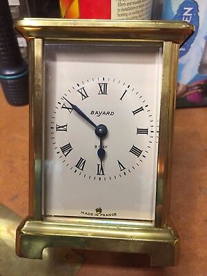 Carriage Clock Seven Jewel French