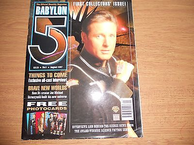 BABYLON 5 : Babylon 5 Monthly Magazine, Vol.1. No.1.