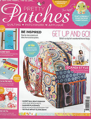 Pretty Patches Quilting Patchwork Applique Issue 25 July 2016