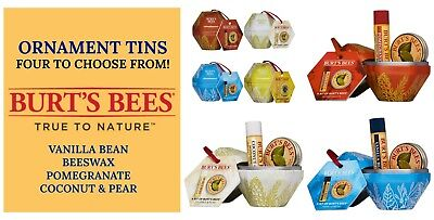 A Bit of Burt Bees Tin Ornament Lip Balm/Lemon Cuticle Cream Buy 1 Get 1 25% OFF