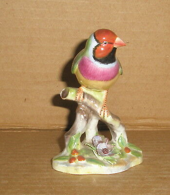 Royal Worcester Gouldian Finch figurine